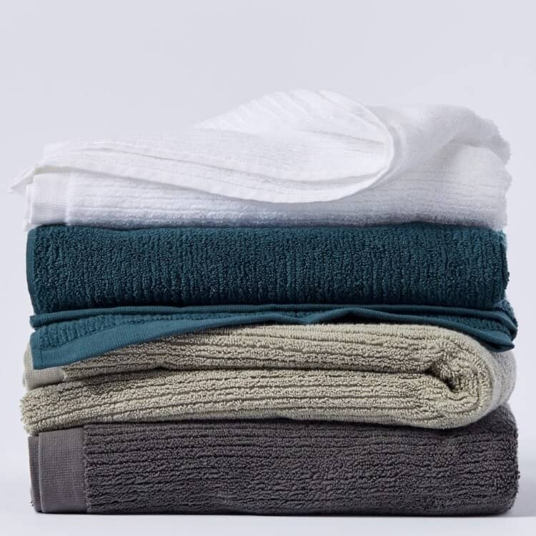 Coyuchi Temescal Organic Towel  - All Stack