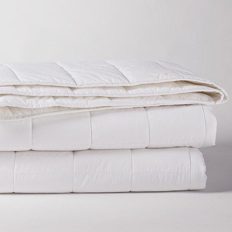 Coyuchi Organic Cotton Comforter - Alpine White