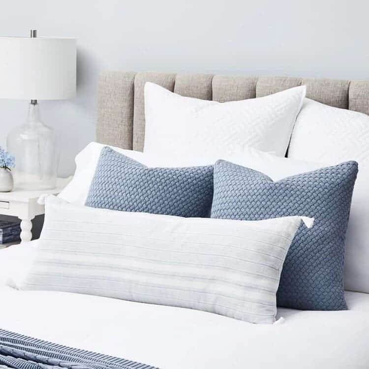 Boll & Branch Linen Stripe Decorative Pillow Cover