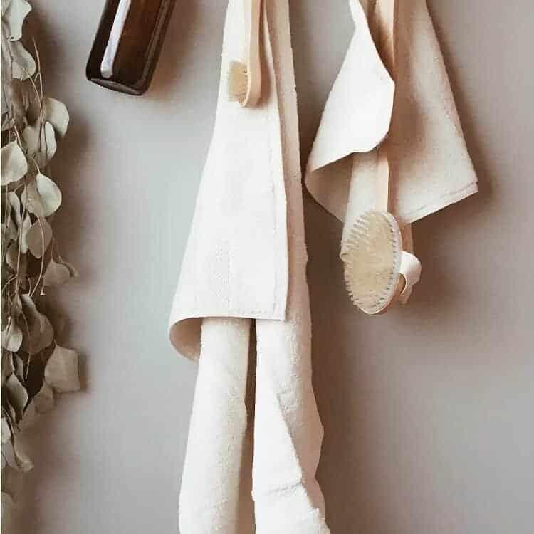 Boll & Branch Plush Bath Towel Set - Natural