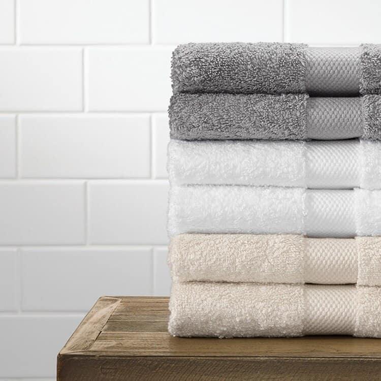 Boll & Branch Plush Washcloths