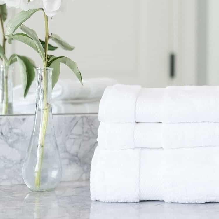 Boll & Branch Plush Washcloths - White