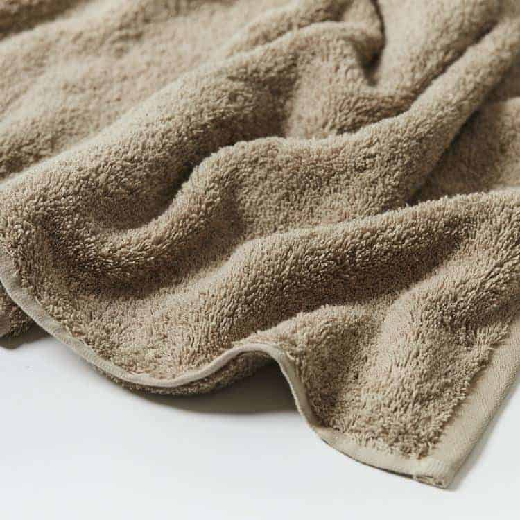 Coyuchi Cloud Loom Organic Bath Mat - Taupe
