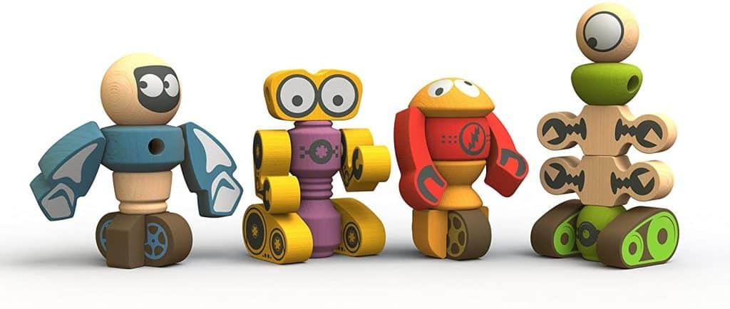 BeginAgain Tinker Totter Robot Character Set