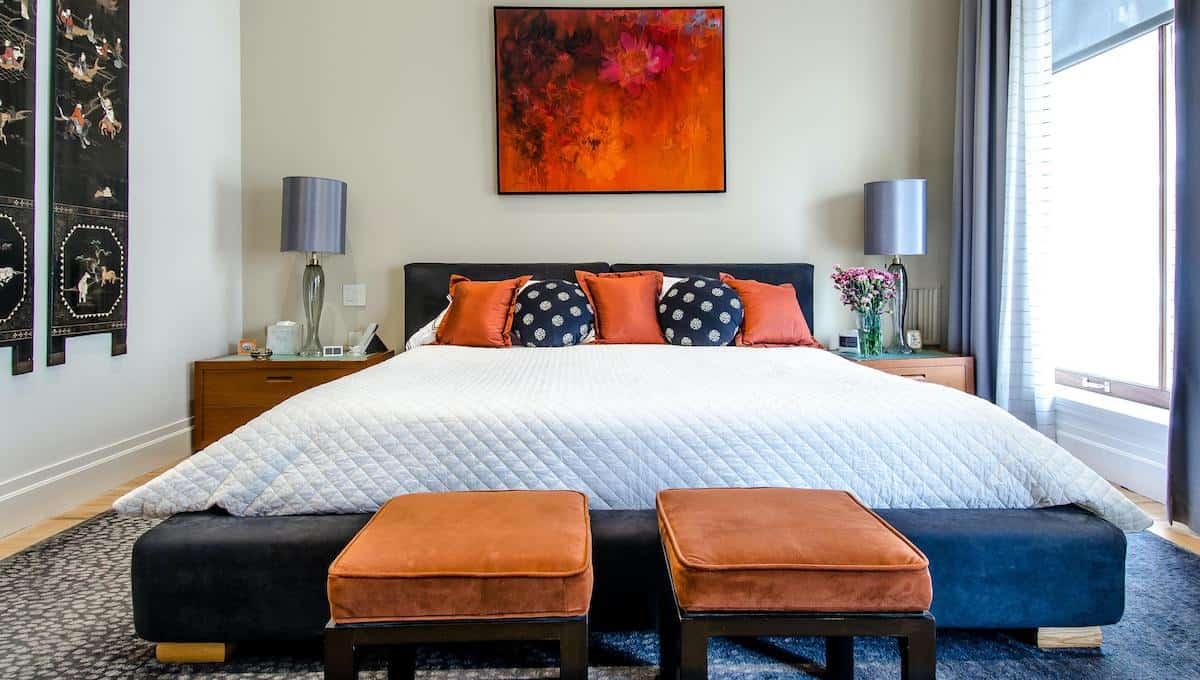 Eliminate indoor bedroom allergens