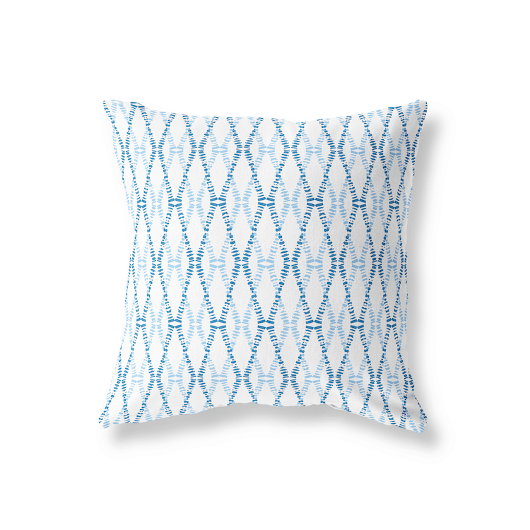 Sanus CrissCross Blue Decorative Pillow Cover