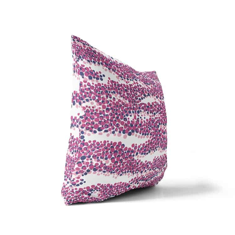Sanus Besprinkle Pink Designer Pillow Cover