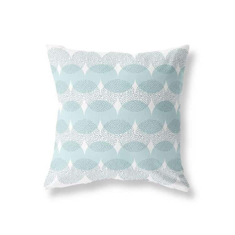 Sanus Mixed Waves Seafoam Pillow Cover