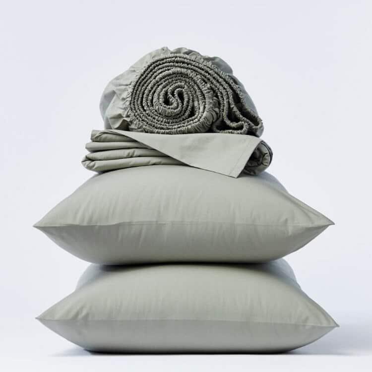 Coyuchi 300 Thread Count Organic Percale Sheets - Laurel
