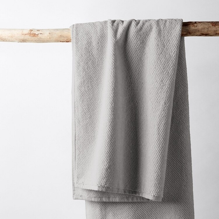 Air Weight Organic Towels - Fog Towel