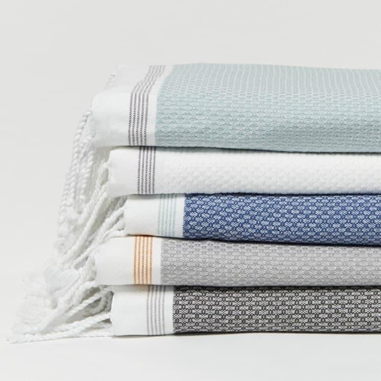 Coyuchi Mediterranean Organic Towels