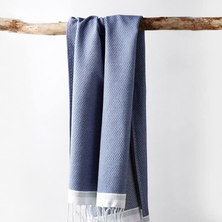 Coyuchi Mediterranean Organic Towels - Lake w Sea Spray