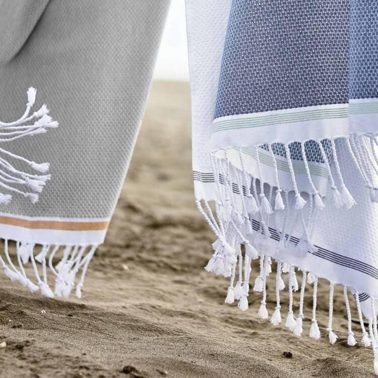 Coyuchi Mediterranean Organic Towels - Mix LS02