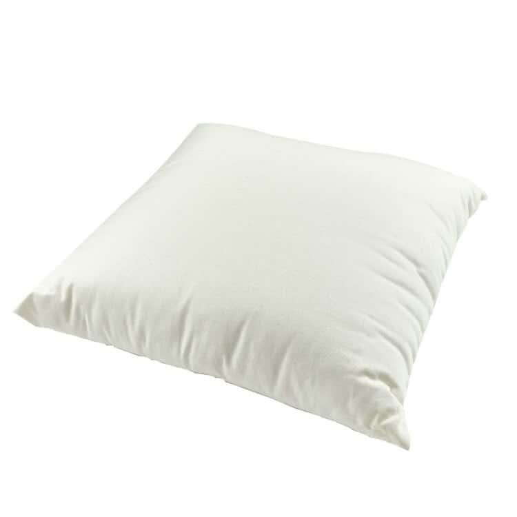 White Lotus Home Kapok Decorative Pillow Inserts