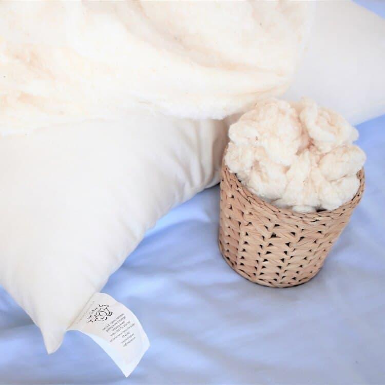 White Lotus Home Organic Cotton Sleep Pillows