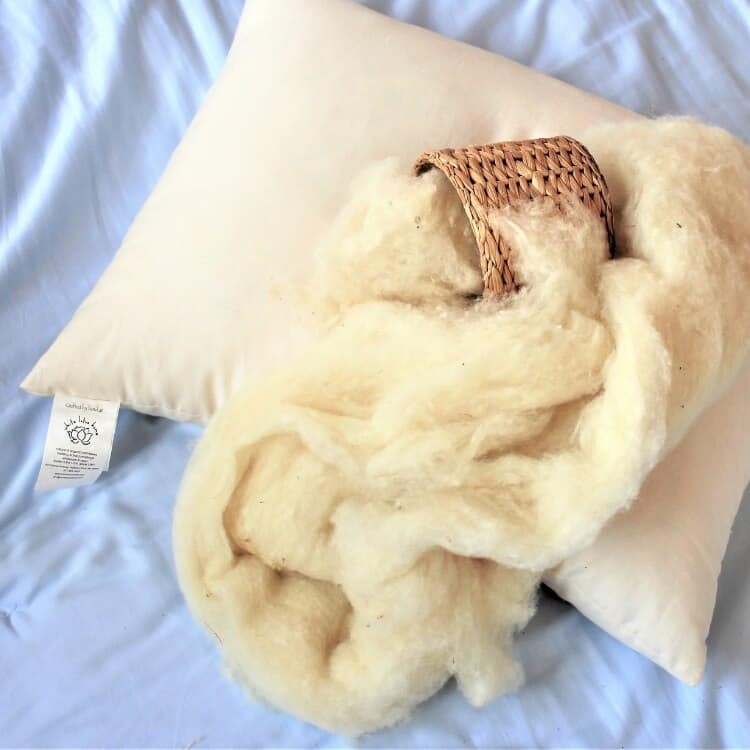 White Lotus Home Wool Sleep Pillows