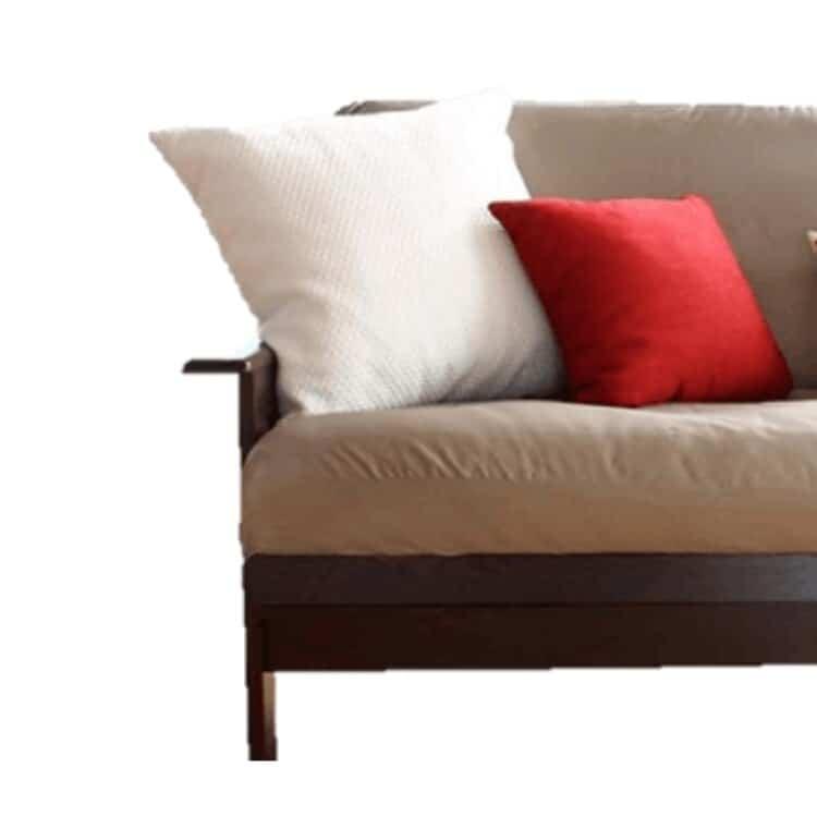 White Lotus Home Organic Cotton Decorative Pillow Inserts  03