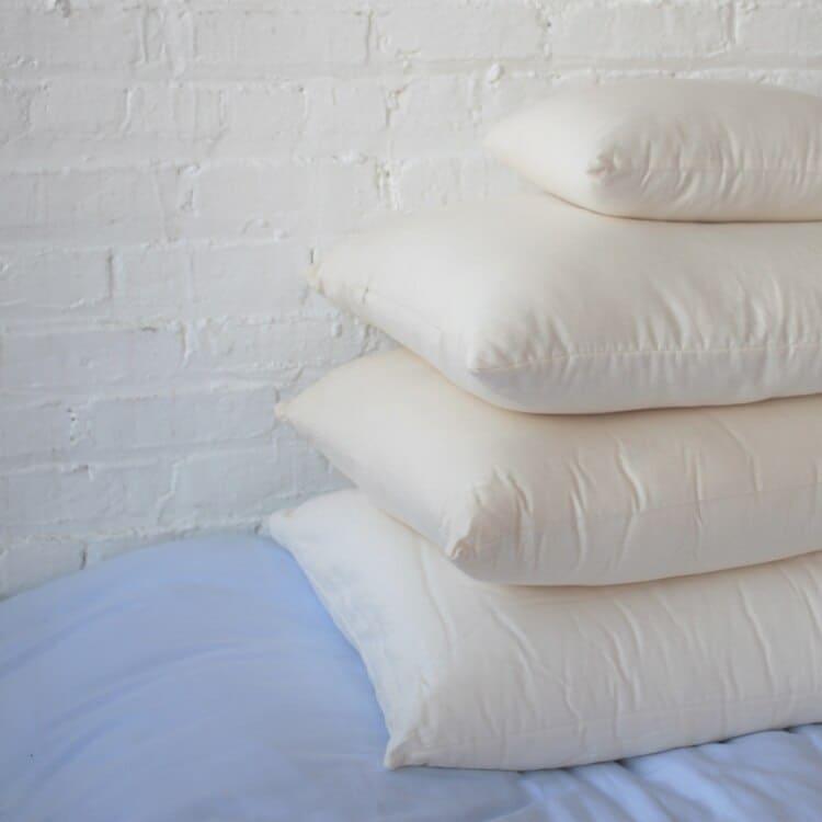 White Lotus Home Natural Shredded Latex Sleep Pillows  02