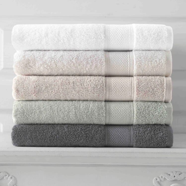 Grund Organic Cotton Towels Pinehurst Collection - All Stack