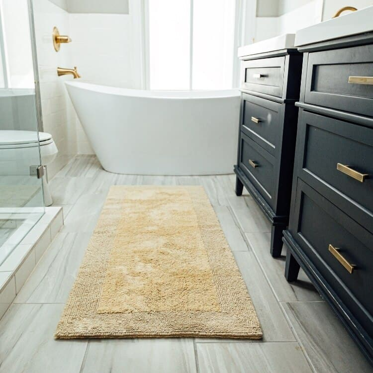 Grund Organic Cotton Bath Rug Puro Collection - Lifestyle