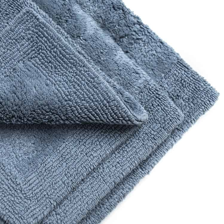 Grund Organic Cotton Bath Rug Puro Collection - Sea Blue