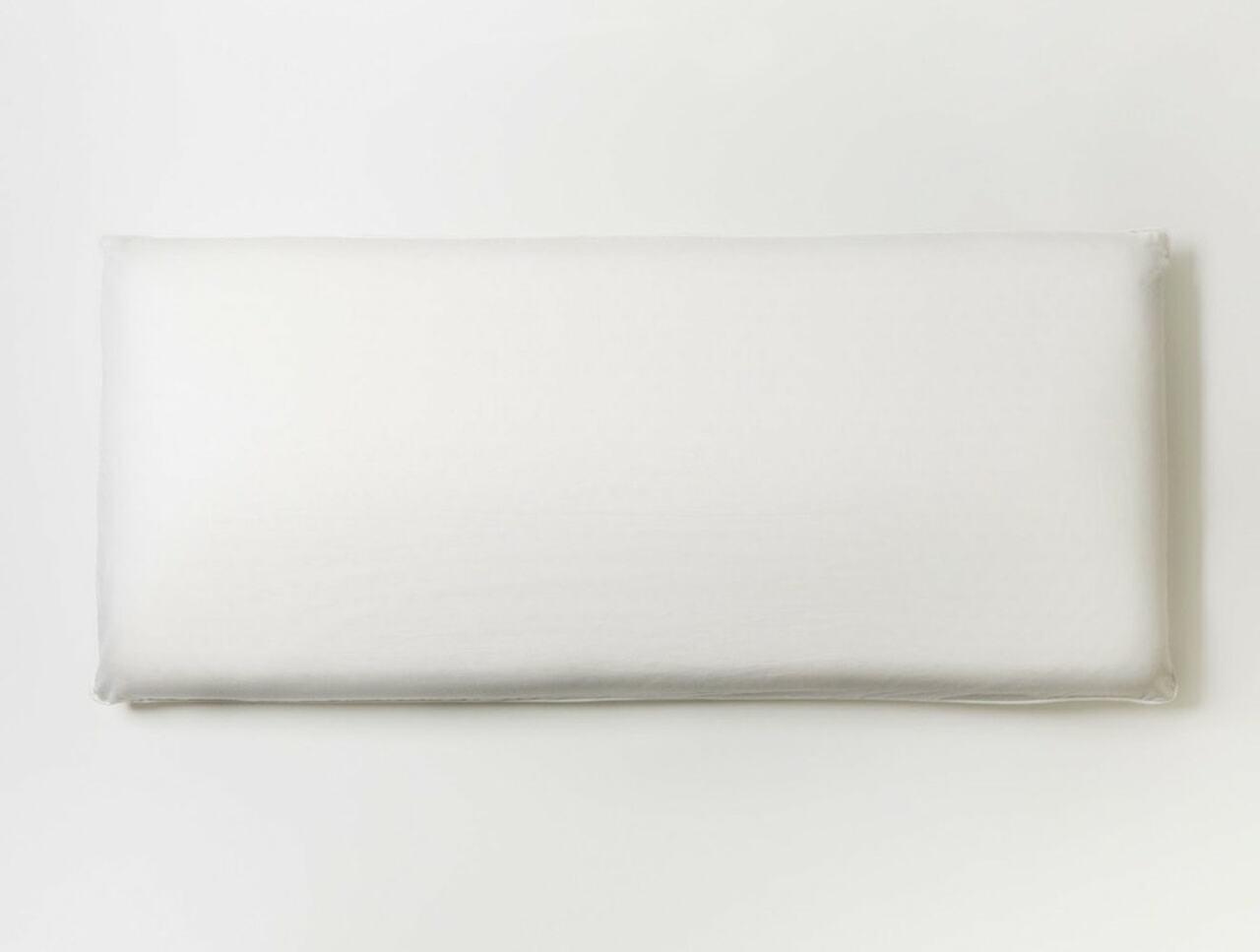 Coyuchi Organic Latex Molded Pillow Flatlay